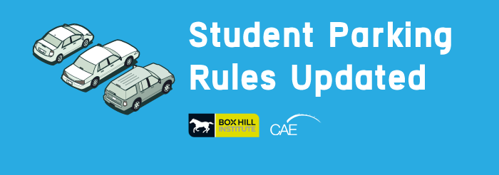 Student parking rules updated