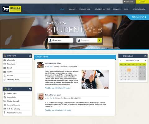 New look - StudentWeb 2.7